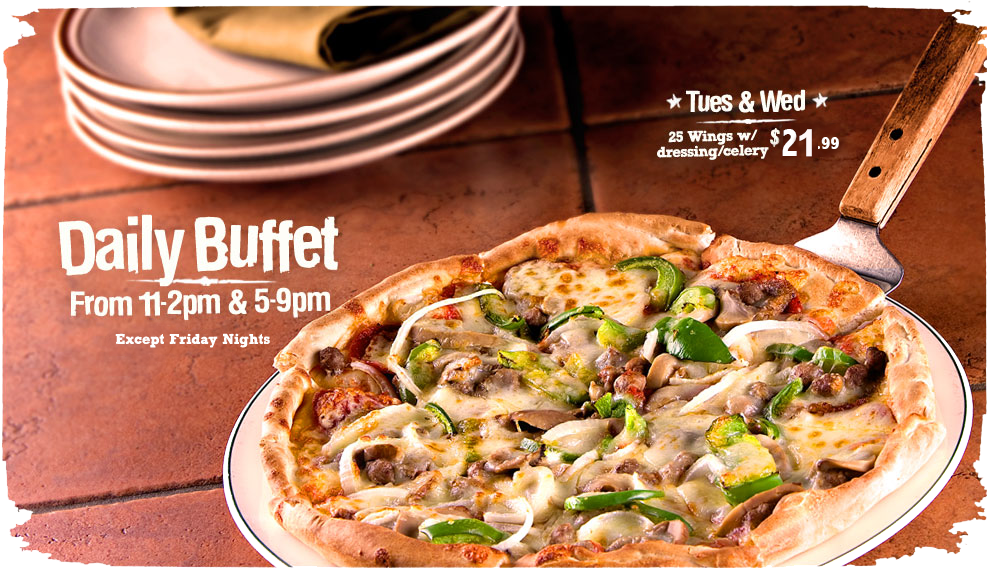 Daily Buffet 11am-2pm & 5pm-9pm